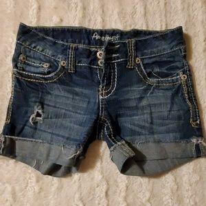 Size 3 Amethyst shorts